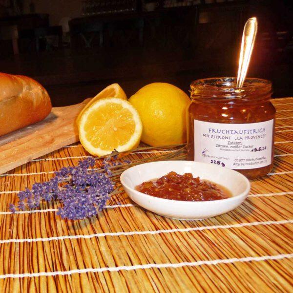 """Fruchtaufstrich mit Zitrone """"La Provence"""""""