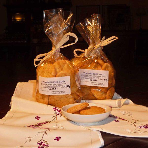 Französische Kekse